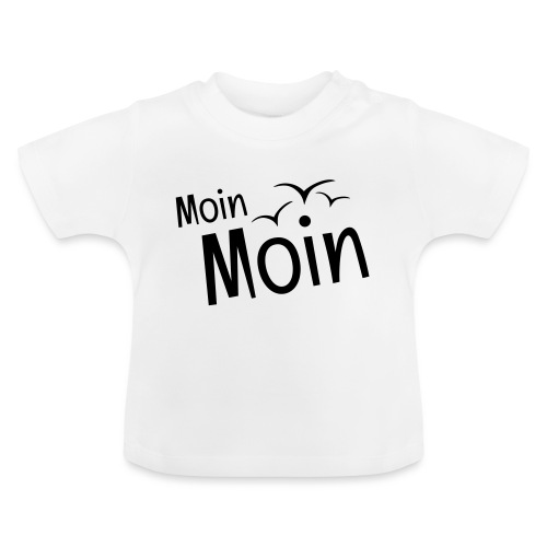 Moin Moin mit Möwen - Baby T-Shirt