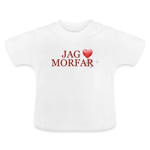Jag älskar morfar - Baby-T-shirt