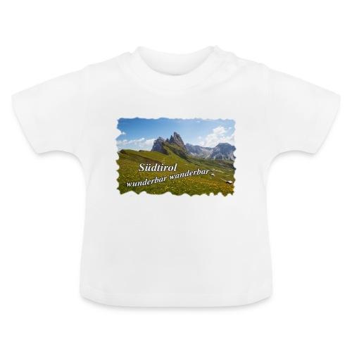 Südtirol - wunderbar wanderbar - Baby T-Shirt