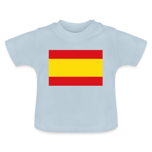 vlag van spanje - Baby T-shirt