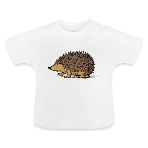 egel illustratie - Baby T-shirt