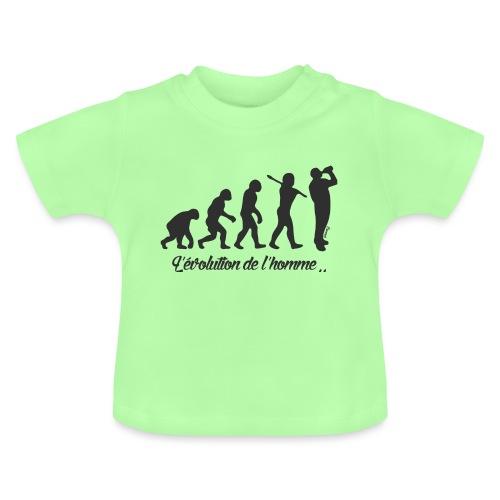 évolution homme (H) - T-shirt Bébé
