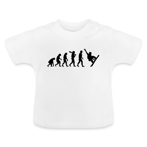 Evolution Snowboard - Baby T-Shirt