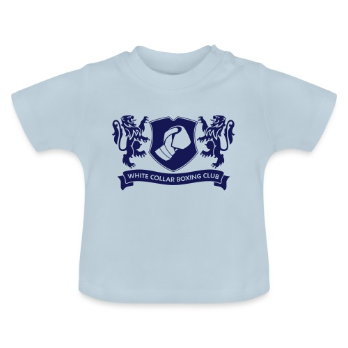White Collar Boxing Hoodie Classic-Blue - Baby T-Shirt