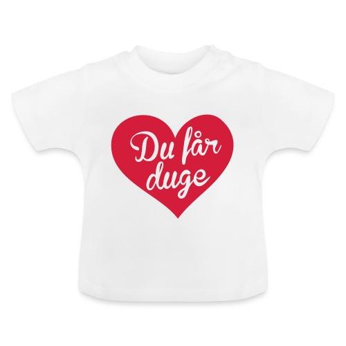 Ekte kjærlighet - Det norske plagg - Baby-T-skjorte