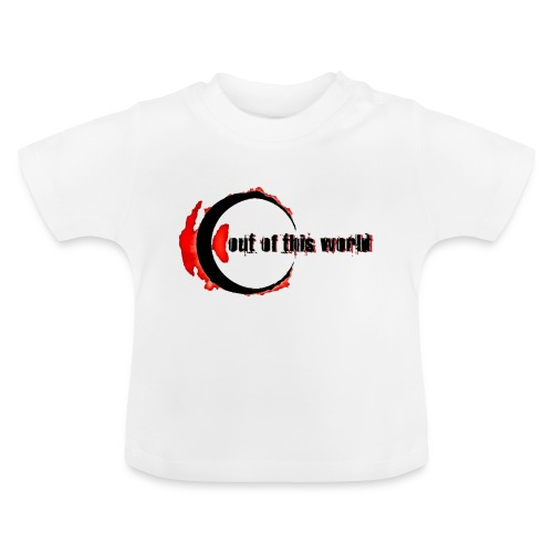 OOTW BLACK AND RED - Maglietta per neonato