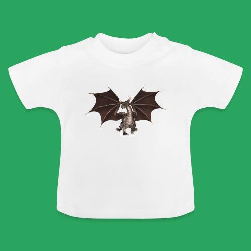 dragon logo color - Maglietta per neonato