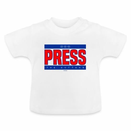 Press the buttons - Baby T-shirt