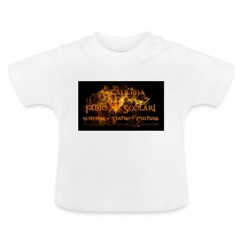 Accademia_Fabio_scolari_nero-png - Maglietta per neonato