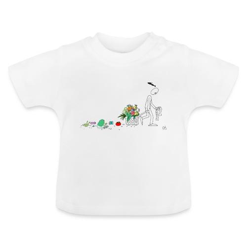 frukt og grønt handleveske - Baby-T-skjorte