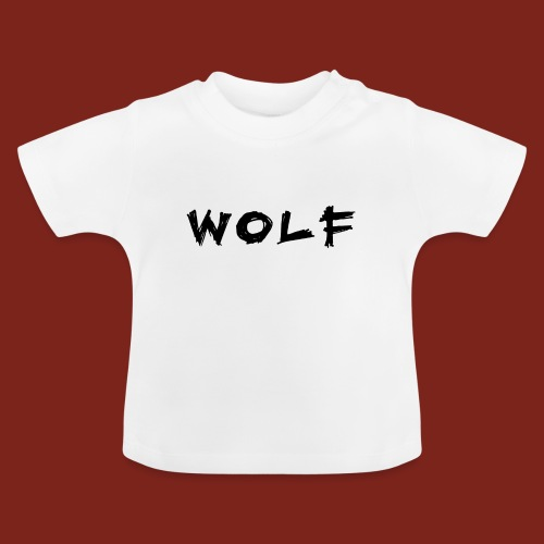 Wolf Font png - Baby T-shirt