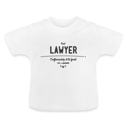Bester Anwalt - wie ein Superheld - Baby T-Shirt