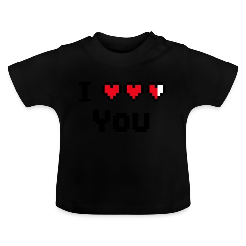 I pixelhearts you - Baby T-shirt