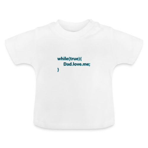 Dad love me - Camiseta bebé