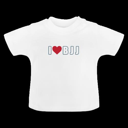 i love bjj - Koszulka niemowlęca