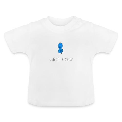 Blöde Kekse blau - Baby T-Shirt