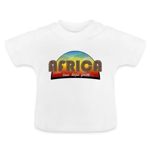 Africa_love_hope_and_faith2 - Maglietta per neonato