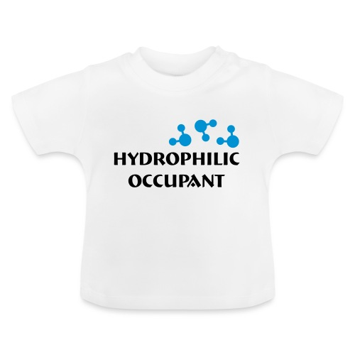 Hydrophilic Occupant (2 colour vector graphic) - Baby T-Shirt