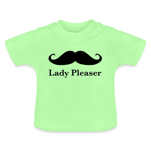 Lady Pleaser T-Shirt in Green - Baby T-Shirt