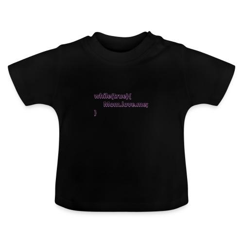 Mom love me - Camiseta bebé