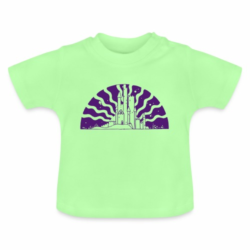 Fairytale Castle Sunrise - Baby T-Shirt