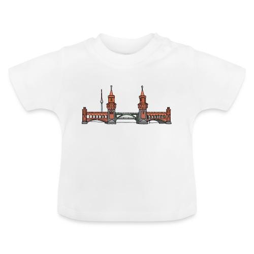 Oberbaumbrücke w Berlinie c - Koszulka niemowlęca