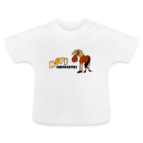 move hindquarters - Baby T-Shirt