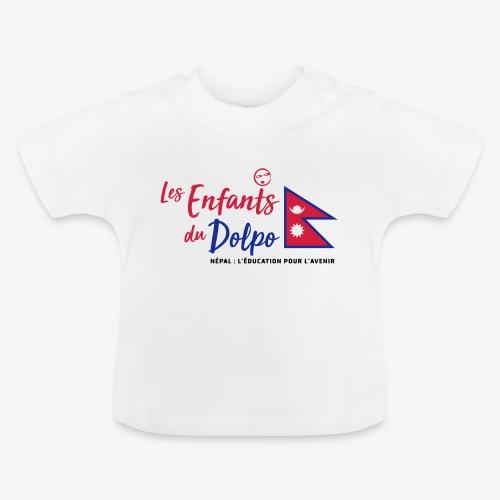 Les Enfants du Doplo - Grand Logo Centré - T-shirt Bébé