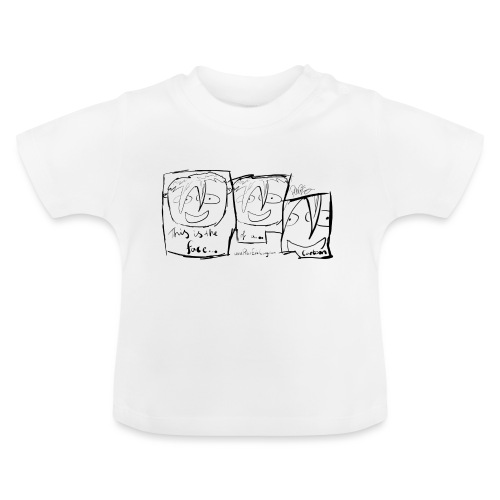 This Is The Face Comic | Peter Eric Lang - Baby T-Shirt