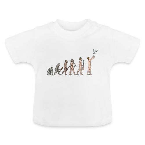 Evolution of Peace - Baby T-Shirt