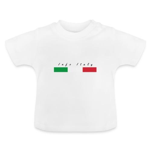 Info Italy Design - Maglietta per neonato
