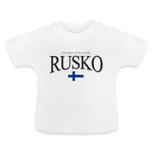 Suomipaita - Rusko Suomi Finland - Vauvan t-paita