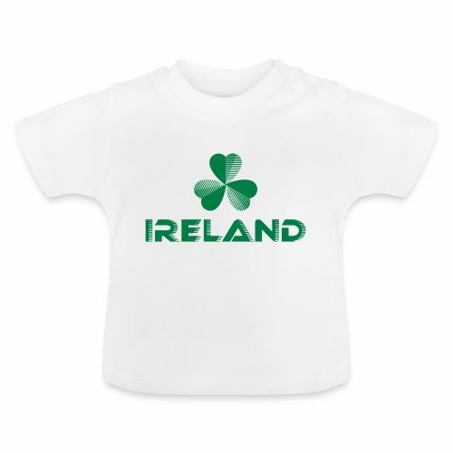 Supporting Ireland Shamrock - Baby T-Shirt