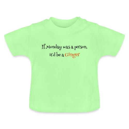 ginger1 - Vauvan t-paita