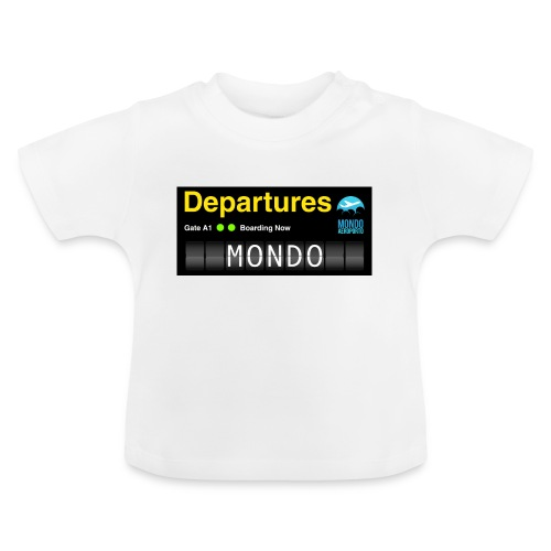 Departures MONDO jpg - Maglietta per neonato