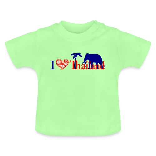 I love Thailand - Baby T-Shirt