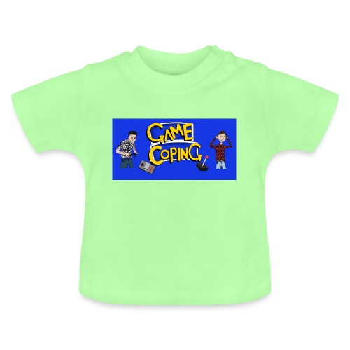 Game Coping Angry Banner - Baby T-Shirt