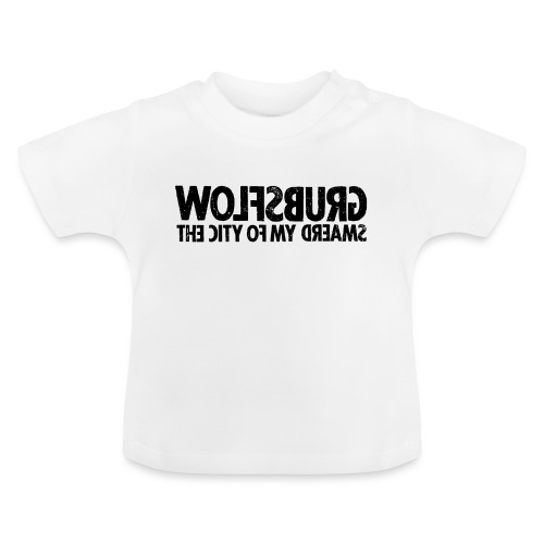 Wolfsburg (black_oldstyle) - Baby T-Shirt