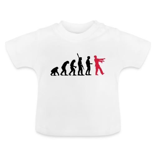 Zombie Evolution (zweifarbig) - Baby T-Shirt