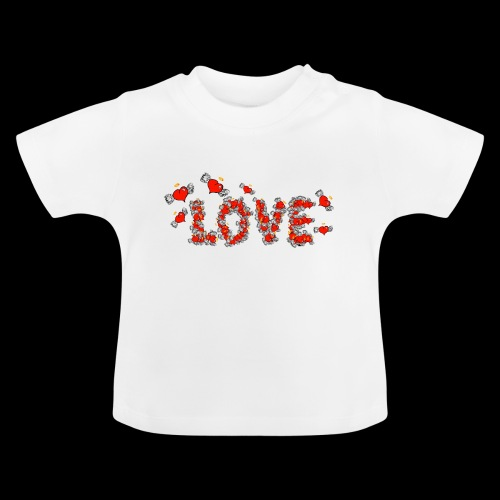 Flying Hearts LOVE - Baby T-Shirt