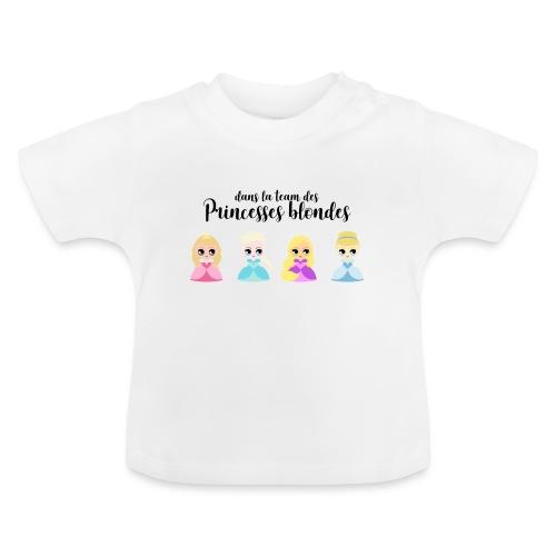 Team princesses blondes - T-shirt Bébé