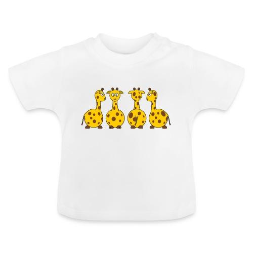 4 giraffen - Baby T-Shirt