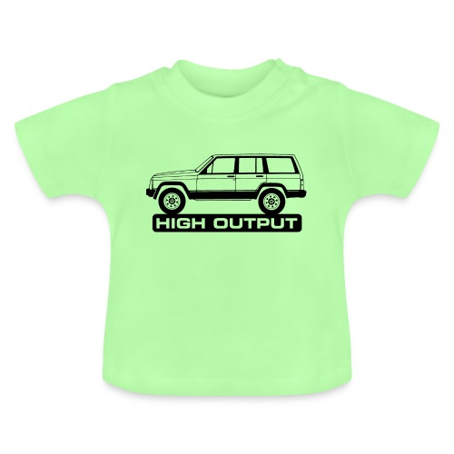 Jeep XJ High Output - Autonaut.com - Baby T-Shirt