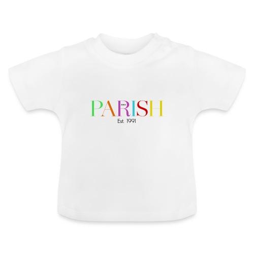 Jessica Parish Color-Schriftzug - Baby T-Shirt
