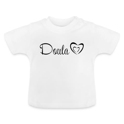 doula polkuna sydämet - Vauvan t-paita