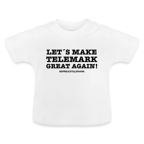 Let´s make telemark great again - Vauvan t-paita