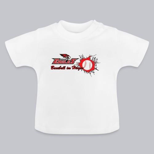 Baseball im Herzen - Baby T-Shirt