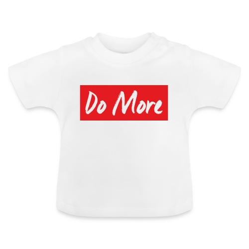 white logo color background - T-shirt Bébé