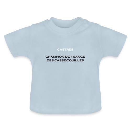design castres - T-shirt Bébé