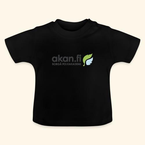 Akan Black - Vauvan t-paita